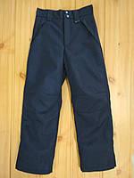 Утепленные зимние лыжные брюки на синтепоне для мальчика