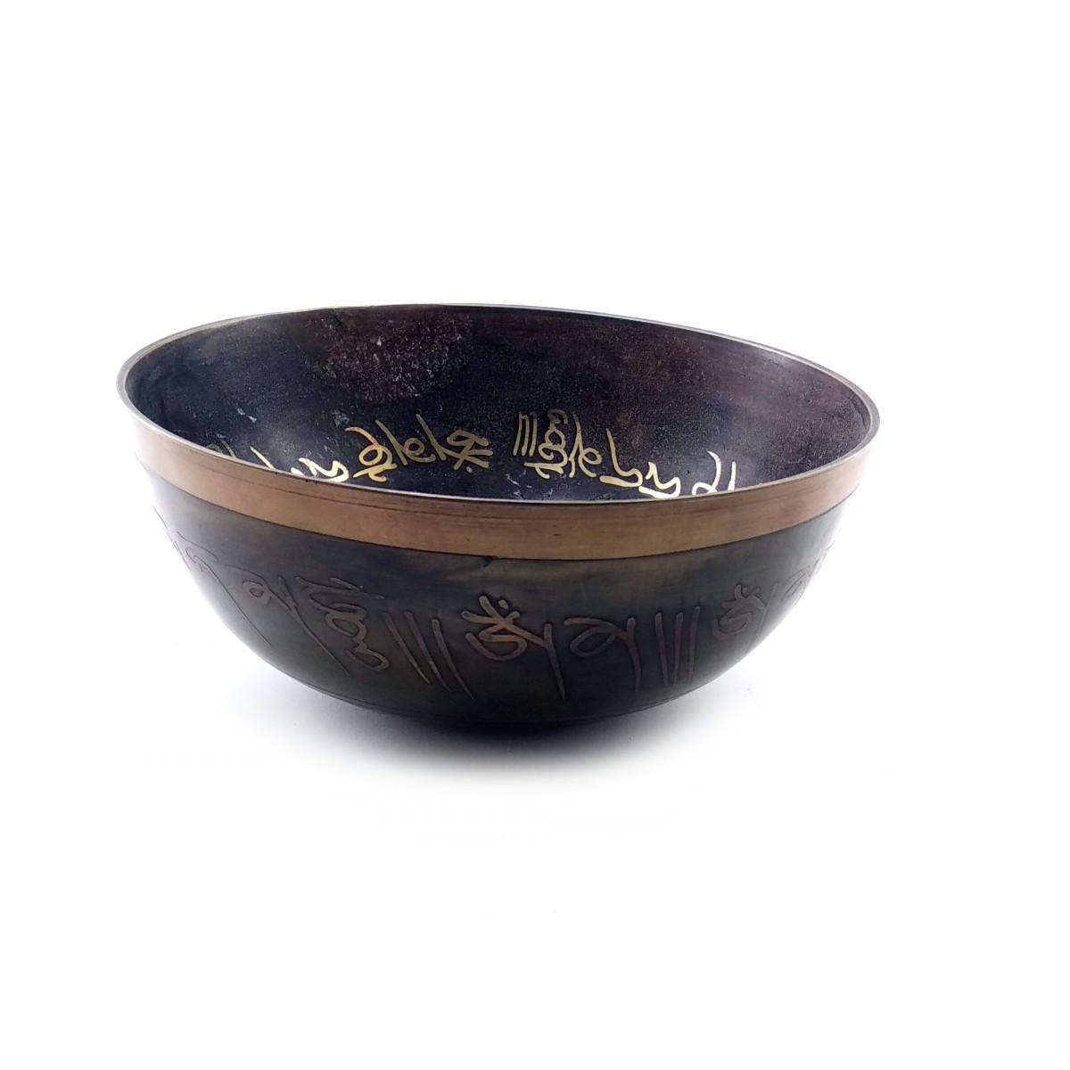 Чаша поющая (d-18 см h-7,5 см) ( 32326)