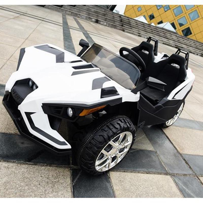 Детский двухместный электромобиль Polaris M 3907 EBLR-1: 4x4,140W, 12V10A- Белый-купить оптом