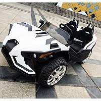 Детский двухместный электромобиль Polaris M 3907 EBLR-1: 4x4,140W, 12V10A- Белый-купить оптом , фото 1