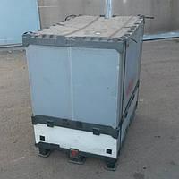 Пластиковый контейнер разборной б/у