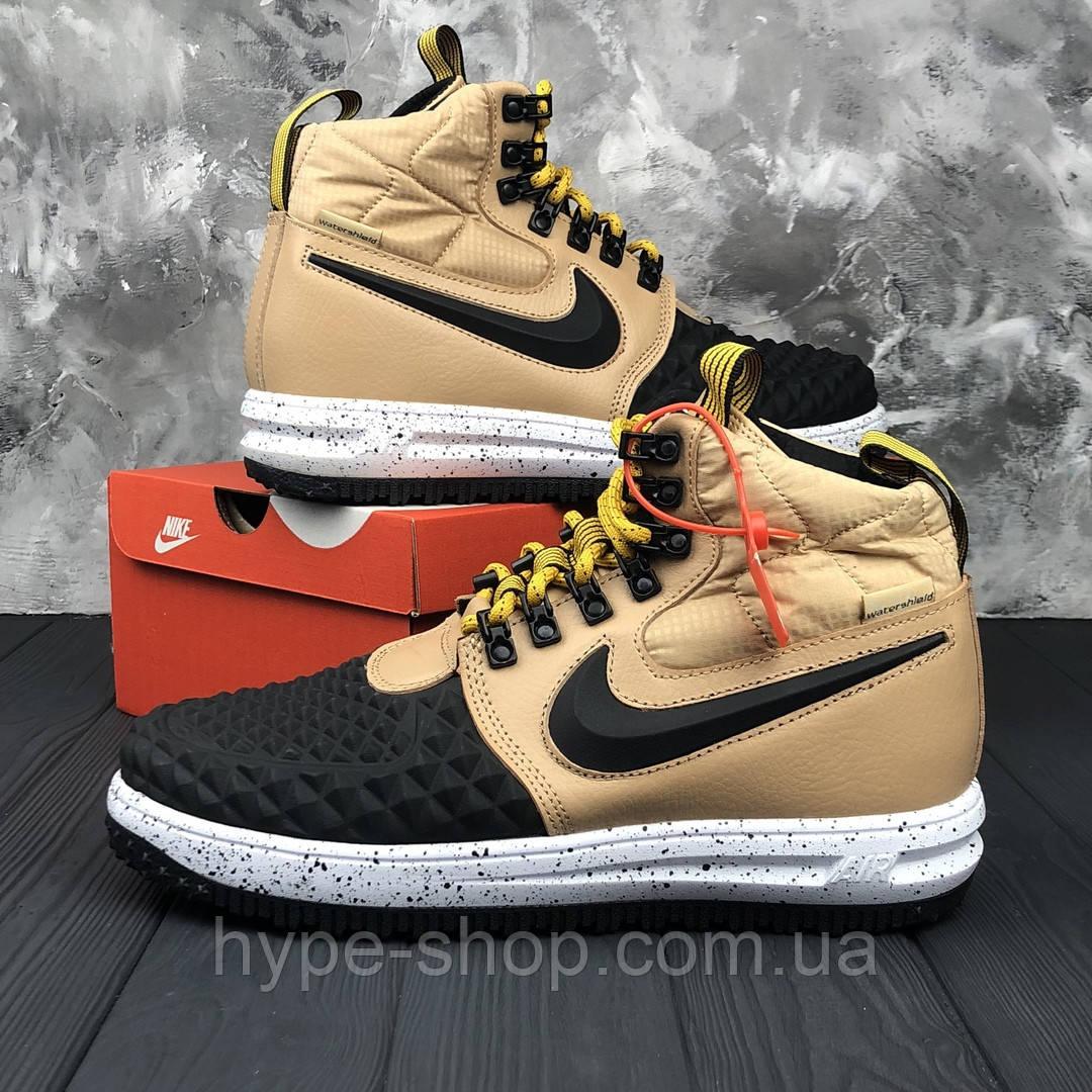 Мужские зимние кроссовки в стиле Nike DUCKBOOT 17 | Топ качество!