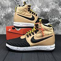 Мужские зимние кроссовки в стиле Nike DUCKBOOT 17 | Топ качество!, фото 1