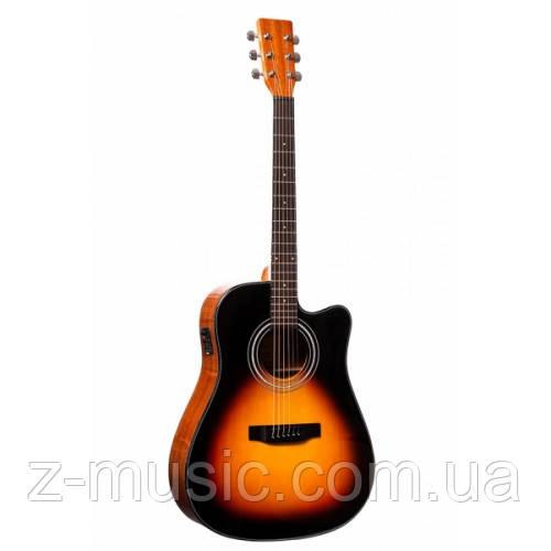Электроакустическая гитара Rafaga HD-100E VS