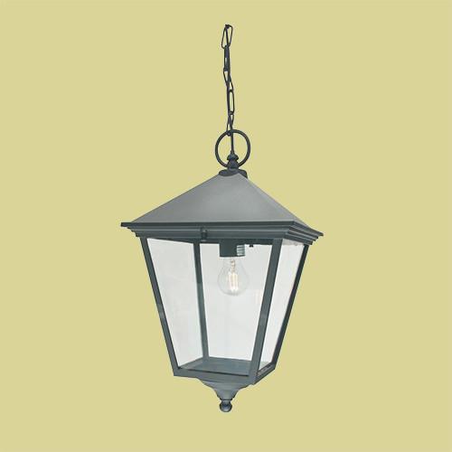 Подвесной уличный светильник Norlys London 493A/B 1х77Вт E27 черный/металл