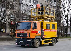 Машины аварийные для ремонта контактных сетей АТ-70М-041