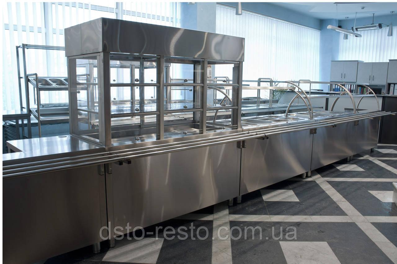 Витринный холодильник для салатов 1800/700/1800 мм