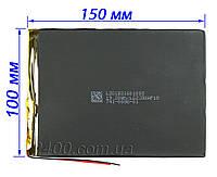 Акумулятор для планшета (5200 маг) тонкий, плоский 2.5*100*150 мм 3,7 в універсальний 3.7 v 2,5*100*150 5200mAh