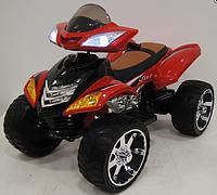 Детский электромобиль Квадроцикл 12V, Кожаное сиденье, EVA-резина, Амортизаторы, дитячий електромобіль