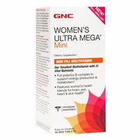 Витамины GNC Women`s Ultra Mega mini, 90 mini tabl