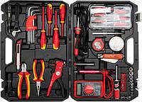 Набор инструментов для электрика YATO 68 предметов (YT-39009) Хит продаж!