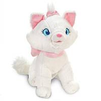 Мери кошка белая средняя плюш. 30см, фото 1