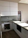 Современная белая кухня на заказ от производителя, фото 3