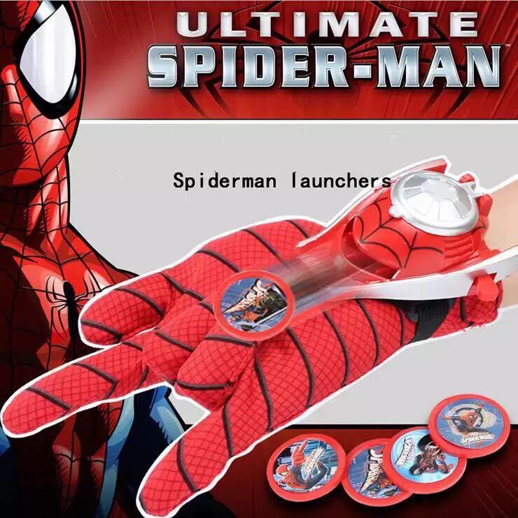 """Ігровий набір Marvel """"Рукавичка Людини-Павука"""" з дискометом"""
