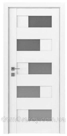 Двери межкомнатные, Родос, Modern, Verona, полустекло
