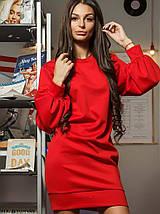 Женское трикотажное платье с широкими рукавами (Жасмин mrb), фото 3