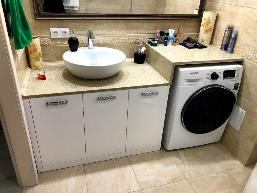 Мебель для ванной комнаты стильная современная на заказ