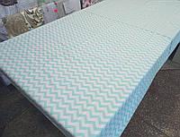Ткань для пошива постельного белья ранфорс Пакистан Зигзаг, фото 1