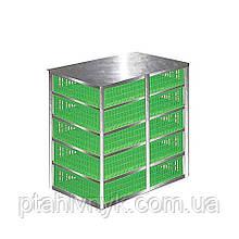 Контейнер для ящиків для перевезення птиці h25