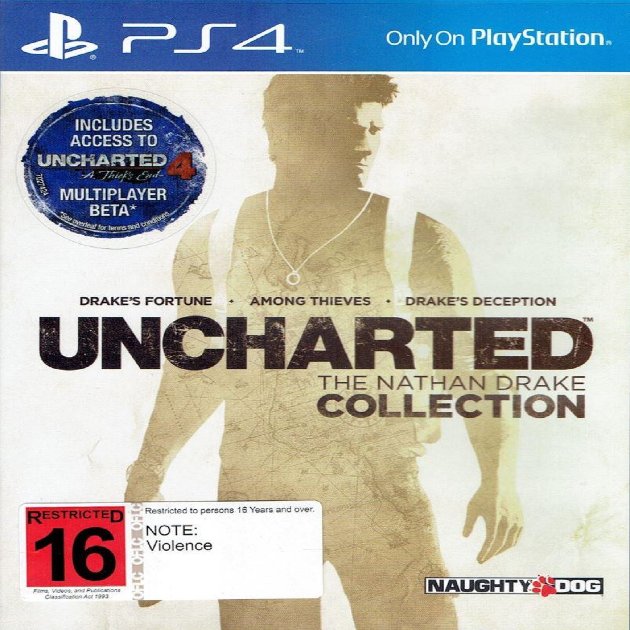 Uncharted: The Nathan Drake Collection RUS PS4 (Б/В)