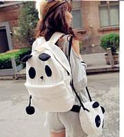 Набор панда рюкзак и сумочка