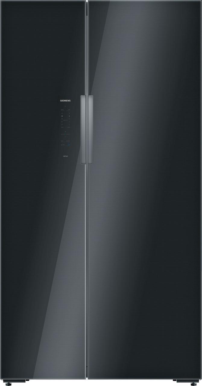 Холодильник side-by-side Siemens KA92NLB35 черный