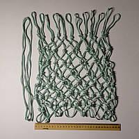 Баскетбольная сетка  «ЭКСКЛЮЗИВ», шнур диаметром  5,5 мм. (стандартная) белая с зеленым оттенком, фото 1