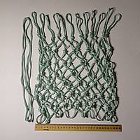 Баскетбольна сітка «ЕКСКЛЮЗИВ», шнур діаметром 5,5 мм (стандартна) біла з зеленим відтінком