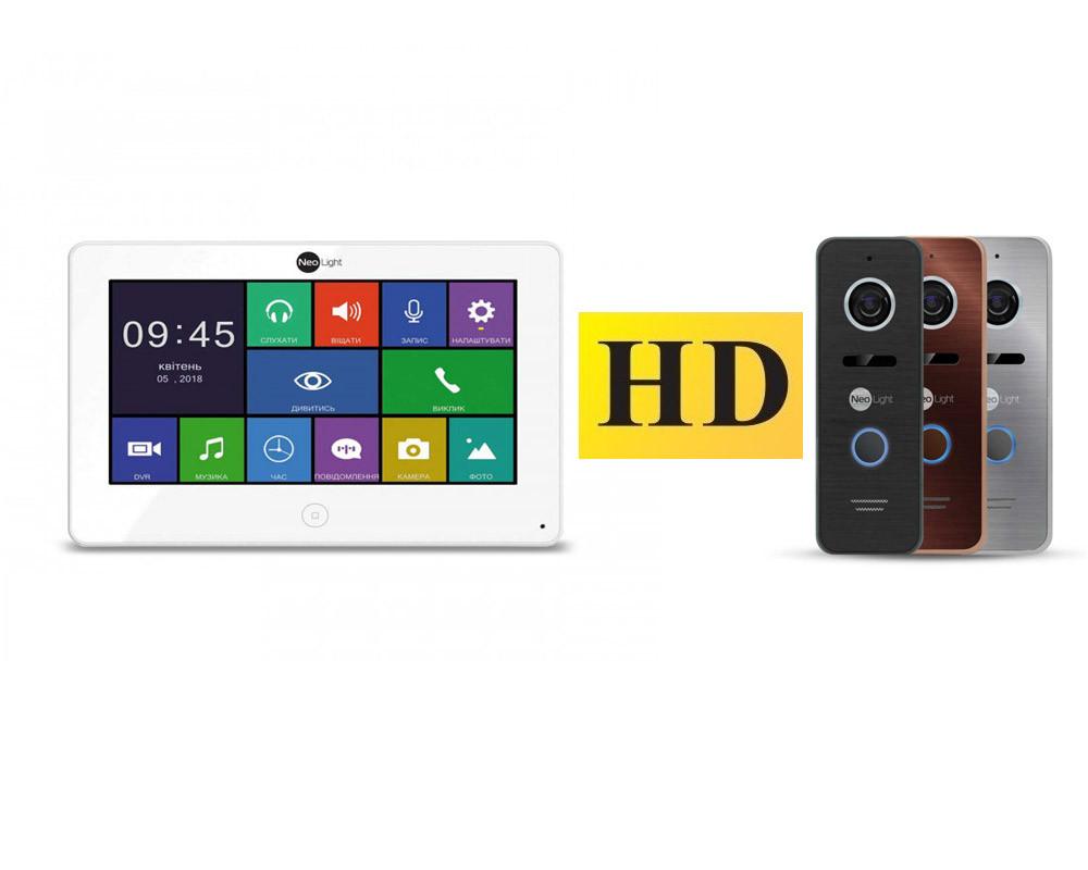 Комплект Видеодомофона NeoLight Alpha HD