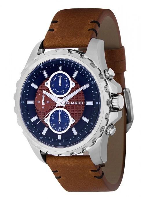 Мужские наручные часы Guardo P11252 SBlBr