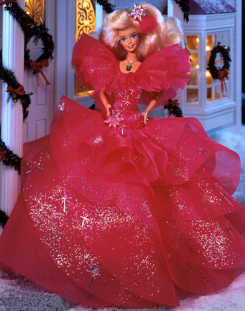 Барби Праздничная 1990