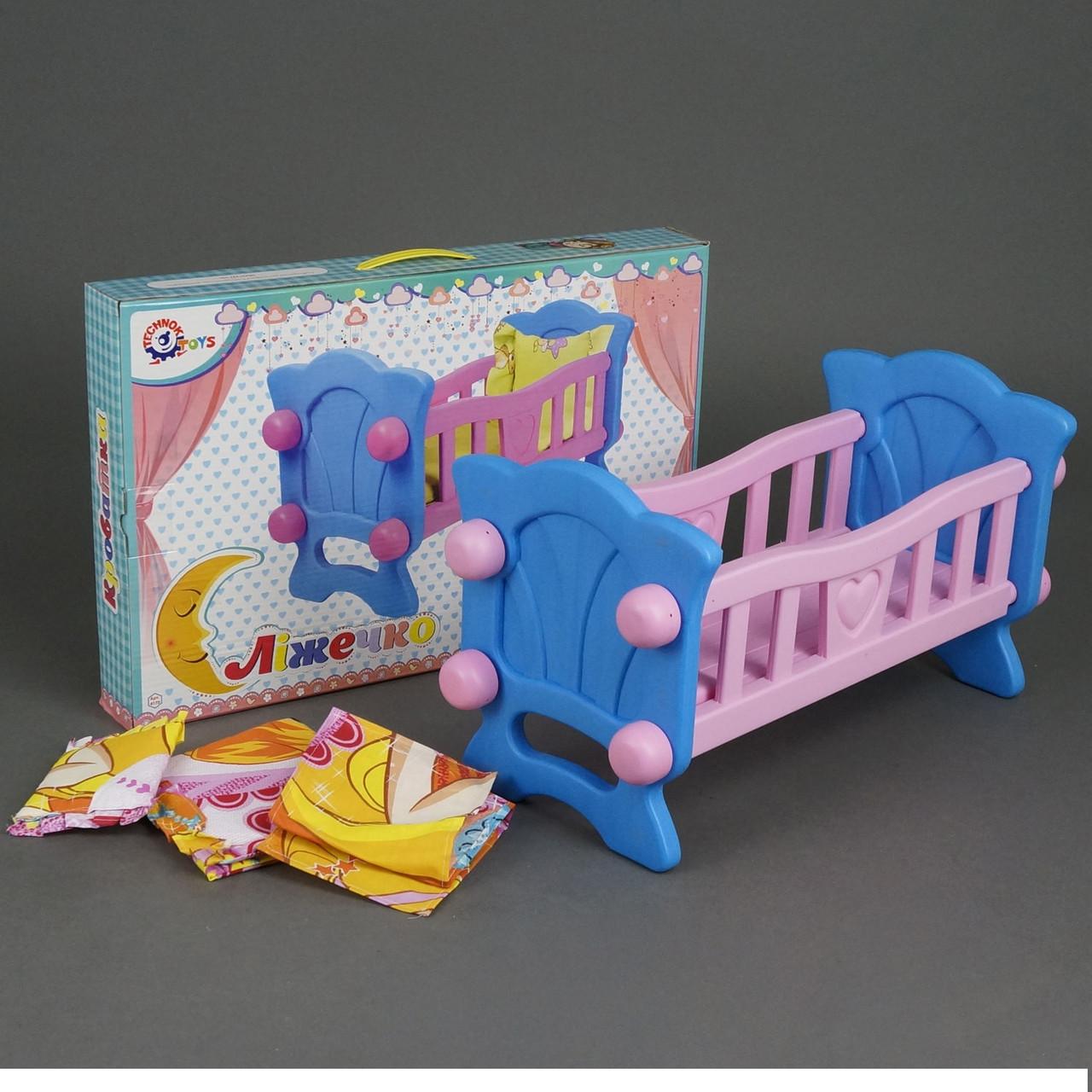 Кроватка для куклы 4173