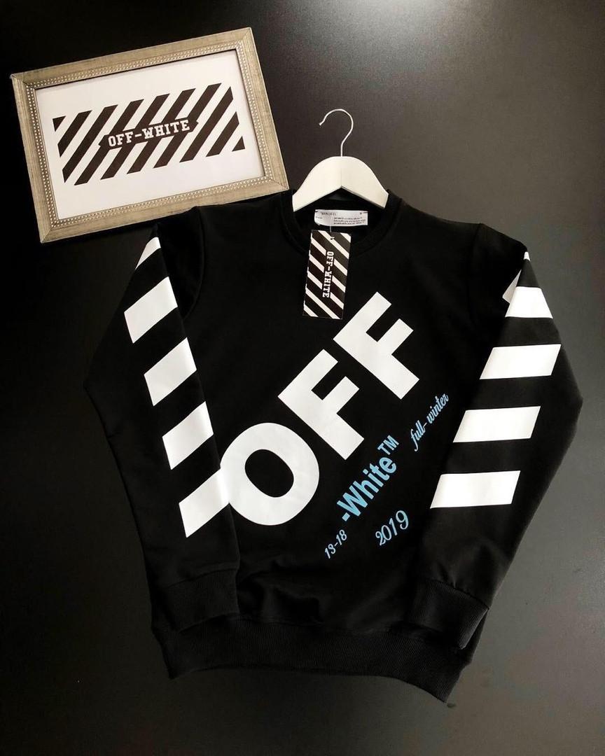 Свитшот OFF-WHITE 2019 черный