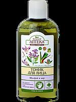 Тоник для лица «Розовая вода и миндальное масло» Зеленая Аптека 200мл