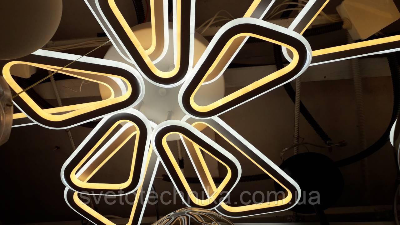 МХ6265/5+5 WH A, светодиодная потолочная LED люстра