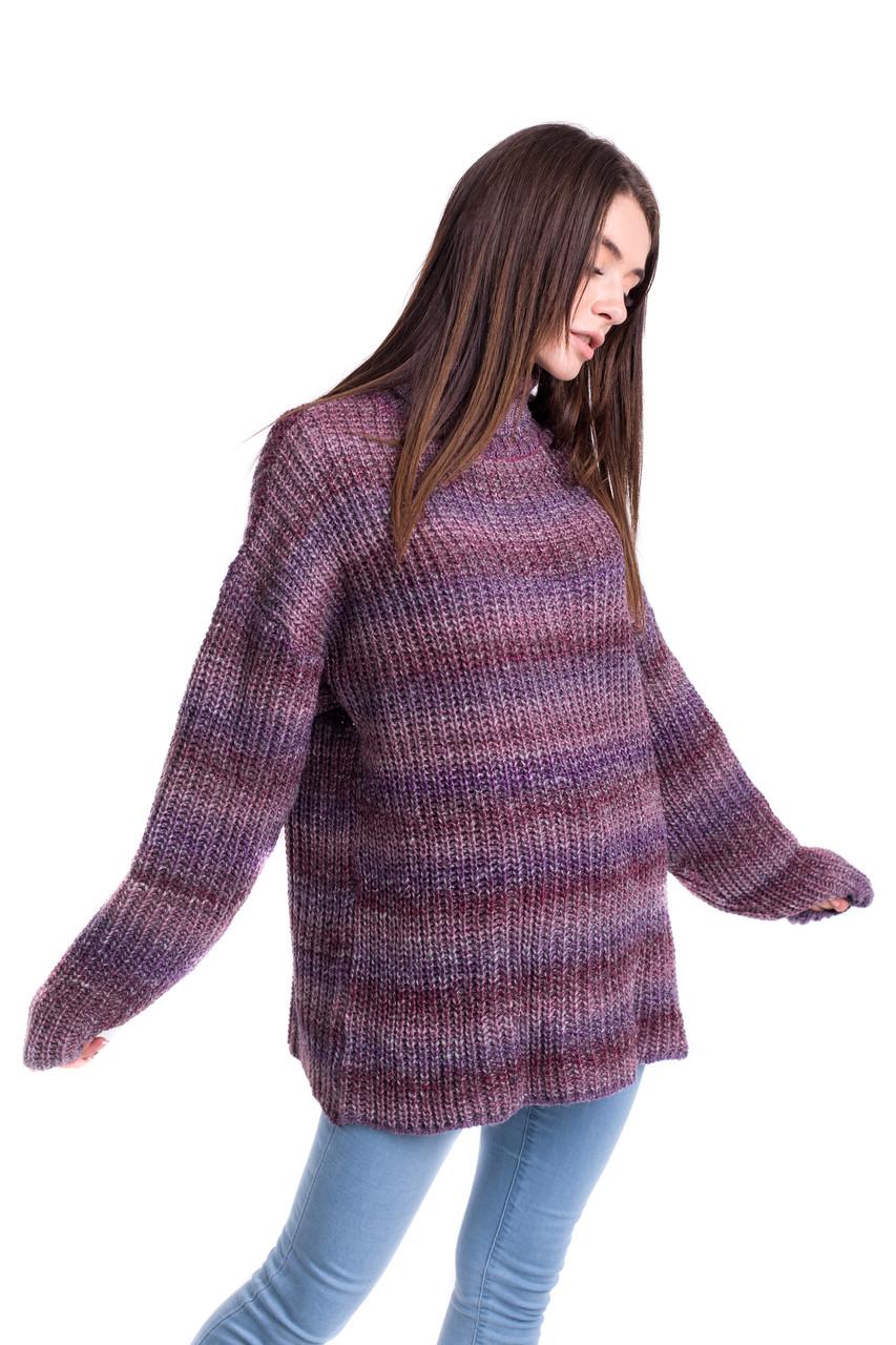 Теплый свитер оверсайз 44-48 (50-56) размеры 6цветов