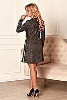 Трикотажное платье с лампасами, фото 1