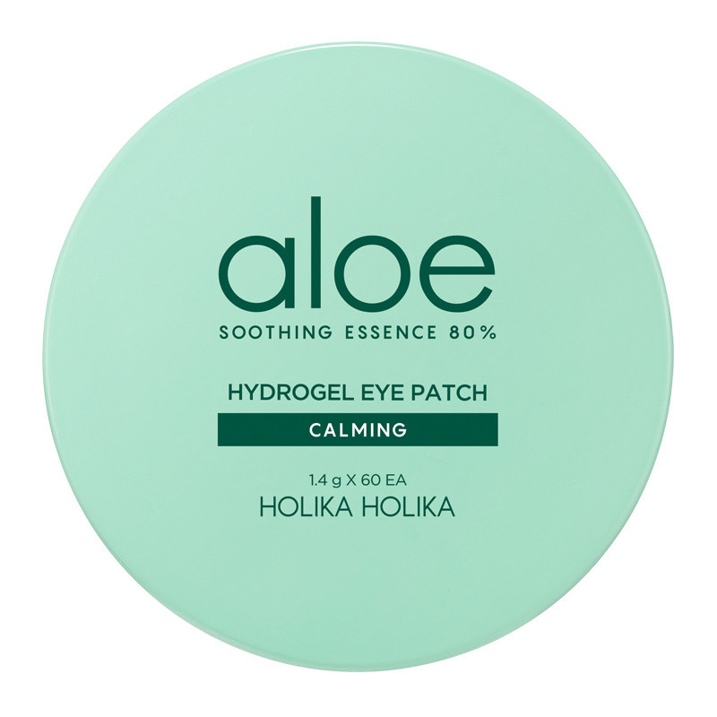 Освежающие патчи под глаза с алоэ вера Holika Holika Aloe Hydrogel Eye Patch 80 % - 60 шт