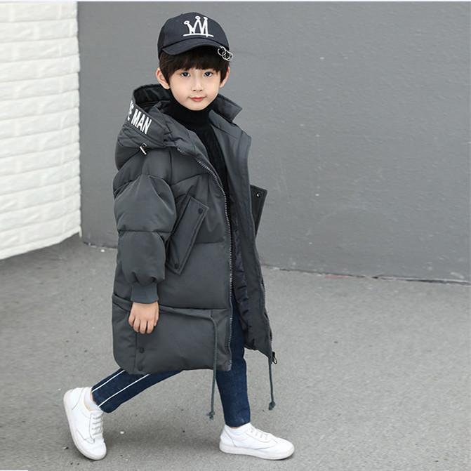 Детская курточка для мальчика, графит