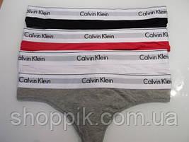 Женские трусики Calvin Klein стринги Набор 3 шт. (реплика), фото 3