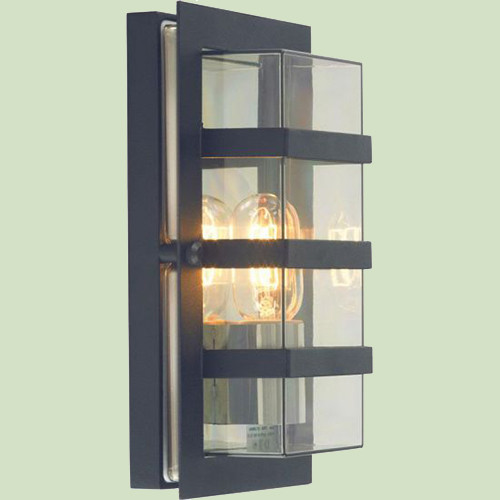 Настенный светильник Norlys Boden 862B 1х46Вт E27 прозрачный/металл