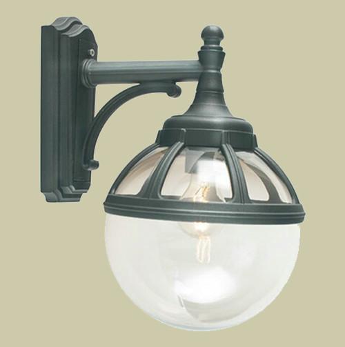 Настенный светильник Norlys Bologna 310B 1х46Вт E27 прозрачный/металл