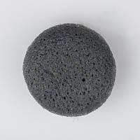 Косметическая губка-спонж для умывания с древесным углем MISSHA Soft Jelly Cleansing Puff Bamboo Charcoal - 1 шт