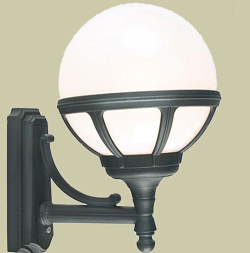 Настенный светильник Norlys Bologna 361B 1х46Вт E27 белый/металл