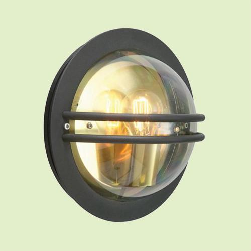 Настенный светильник Norlys Bremen 630B 1х46Вт E27 прозрачный/металл