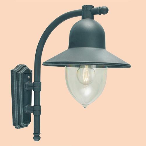 Настенный светильник Norlys Como 370B 1х57Вт E27 черный/металл