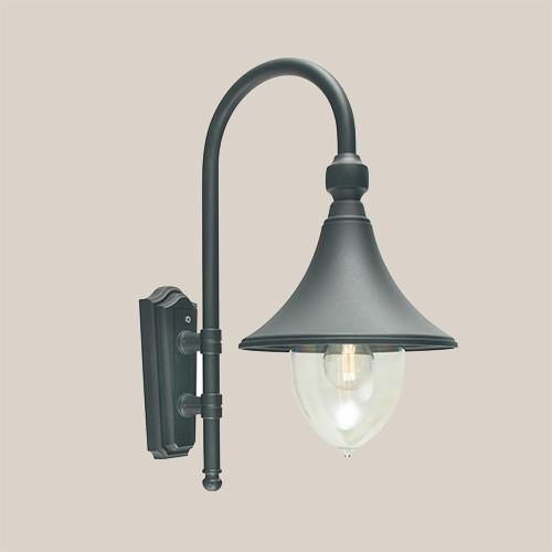 Настенный светильник Norlys Firenze 800B черный 1х57Вт E27 черный/металл