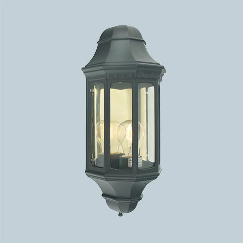 Настенный светильник Norlys Genova 170B 1х46Вт E27 черный/металл
