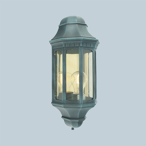 Настенный светильник Norlys Genova 170BG 1х46Вт E27 прозрачный/металл