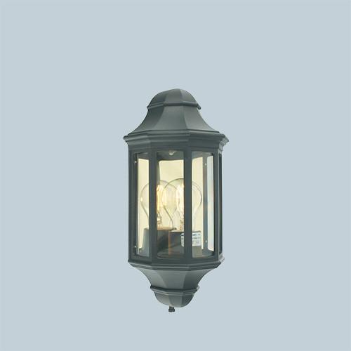 Настенный светильник Norlys Genova mini 175B 1х46Вт E27 черный/металл